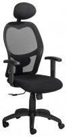 9 to 5 highback with headrest black