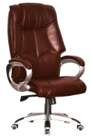 MD highback brown pleather