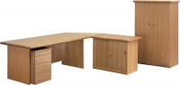 forum-desk-with-mobile-pedestal-and-credenza-2