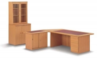 forum-single-pedestal-desk-with-credenza-and-inlay